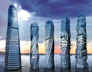 Dynamic Tower — Динамическая Башня в Дубаи.