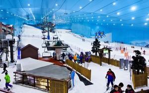 Горнолыжный курорт Ski Dubai.