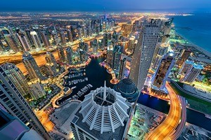 Дубай, как олицетворение мировой рентабельности.