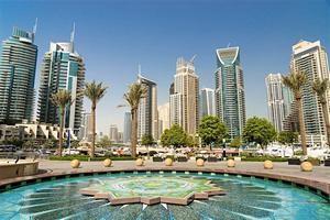 Дистрикт Марина в Дубаях.