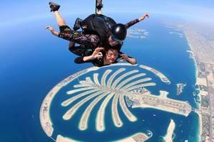 Воздушный экстрим в Дубаи.